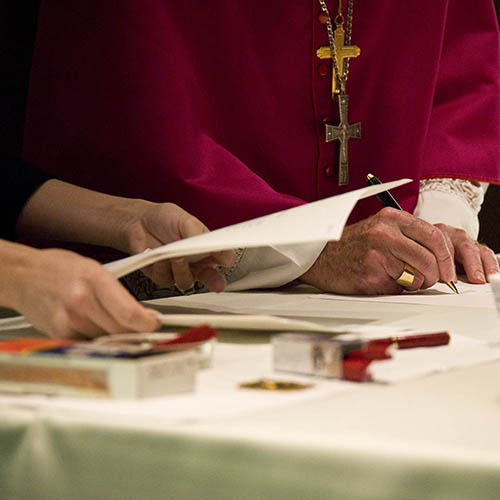 Endorsing the guiding principles of Catholic Investment